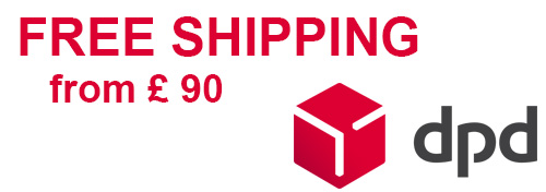 Free shipping from £ 90