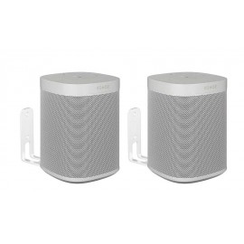 Vebos muurbeugel Sonos One wit set