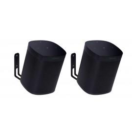 Vebos muurbeugel Sonos One zwart 20 graden set