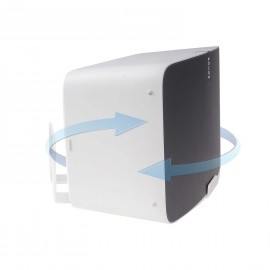 Vebos muurbeugel Sonos Play 5 gen 2 draaibaar wit