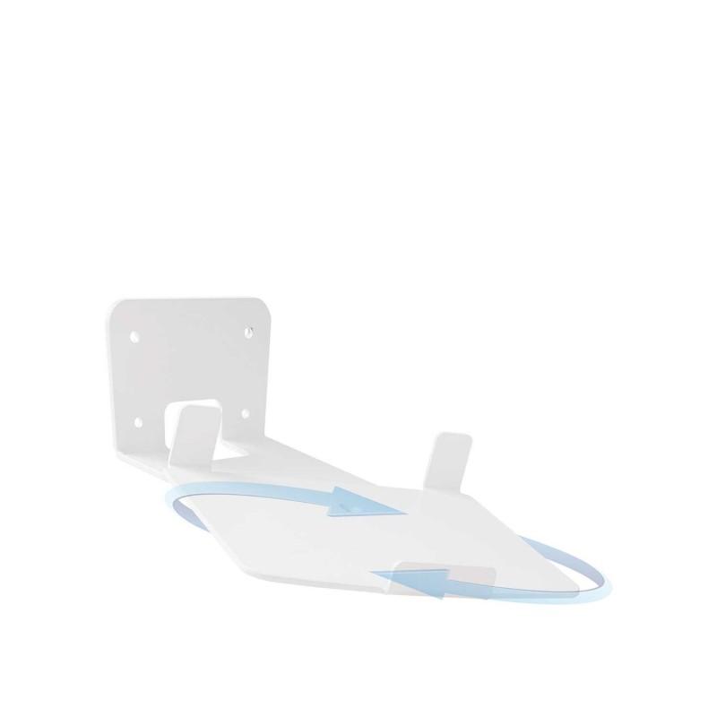 Vebos muurbeugel Sonos Play 5 gen 2 draaibaar 20 graden wit