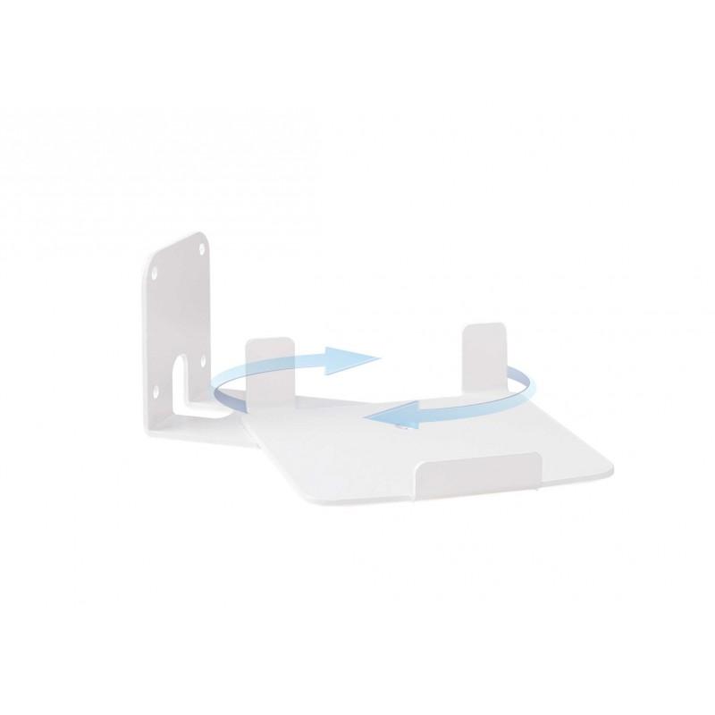 Vebos muurbeugel Sonos Play 5 gen 2 draaibaar wit - verticaal