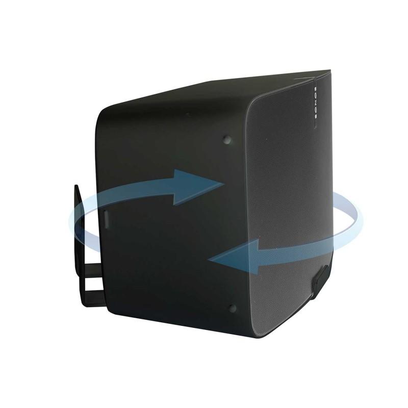 Vebos muurbeugel Sonos Play 5 gen 2 draaibaar zwart