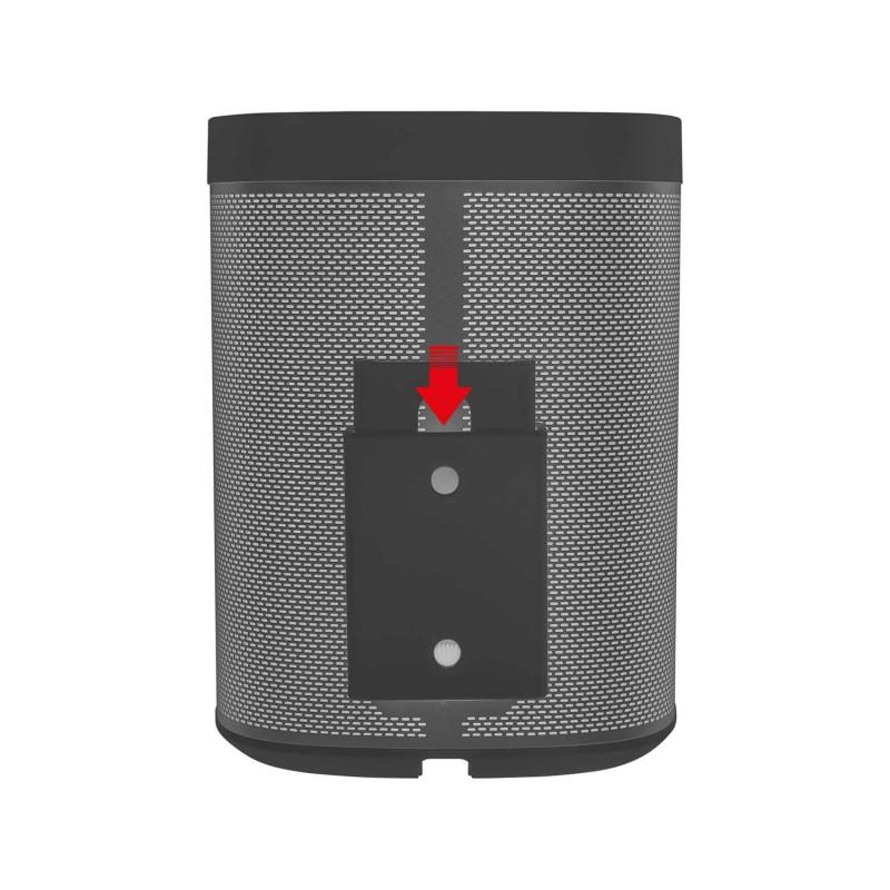 Vebos portable muurbeugel Sonos Play 1 zwart