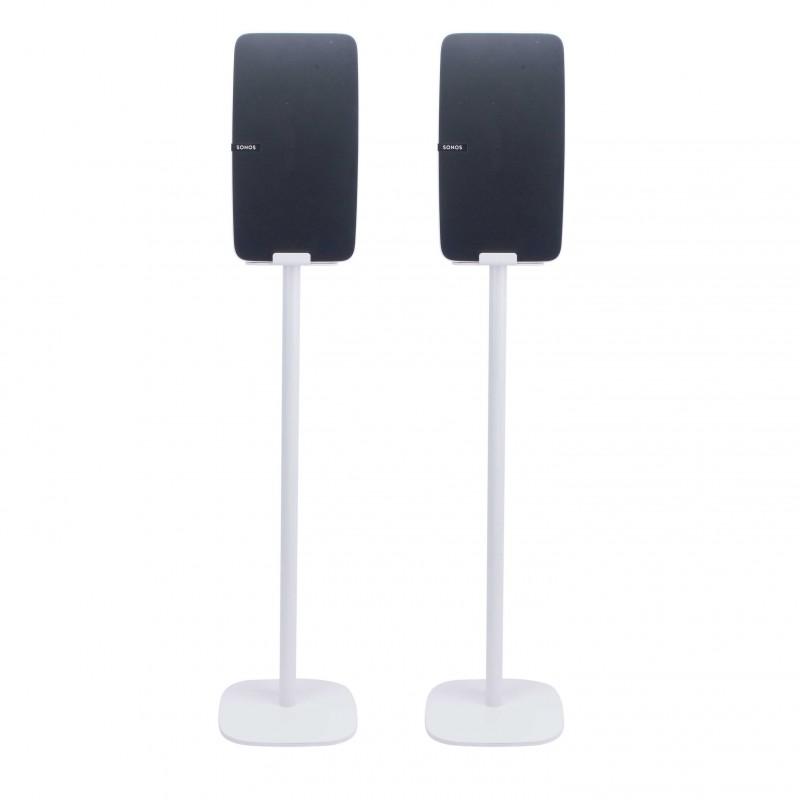 Vebos standaard Sonos Play 5 gen 2 wit set - verticaal