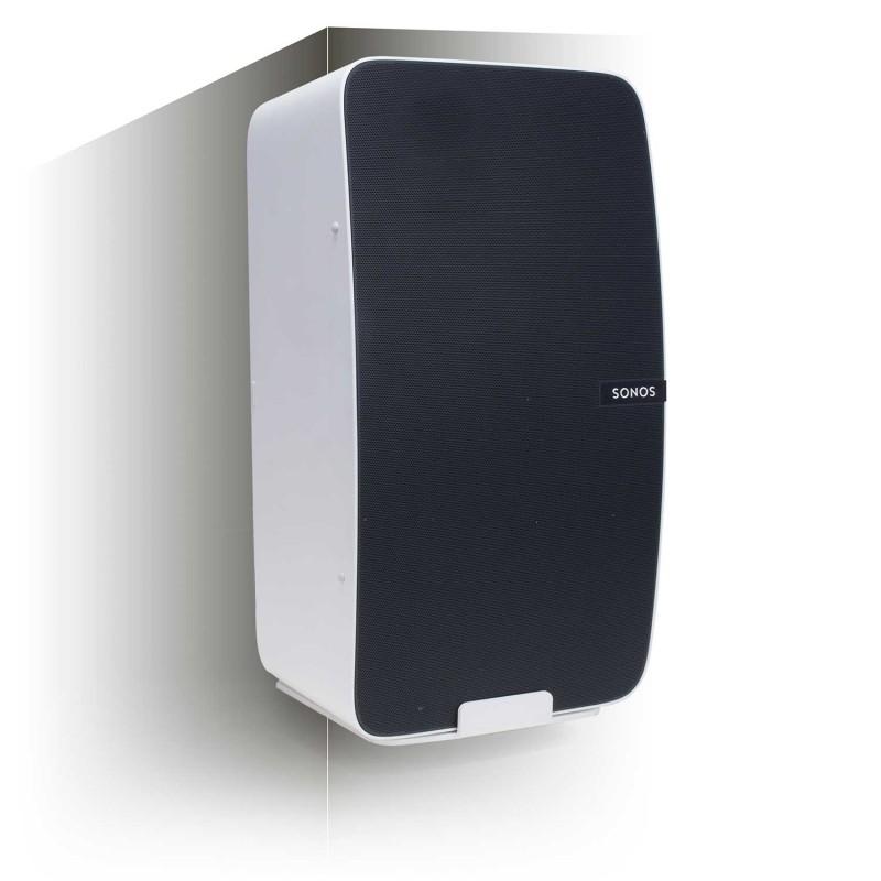 Vebos hoekbeugel Sonos Play 5 gen 2 wit - verticaal