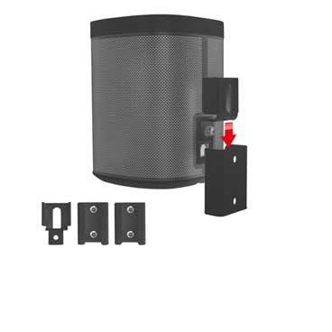 muurbeugel sonos play 1 porable